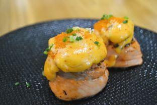 Foto 1 - Makanan di Okinawa Sushi oleh IG: biteorbye (Nisa & Nadya)