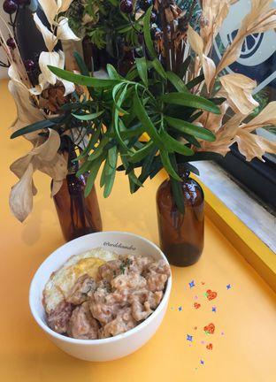 Foto 1 - Makanan(Salted Egg Chicken Rice) di Dino Bites oleh Ardelia I. Gunawan