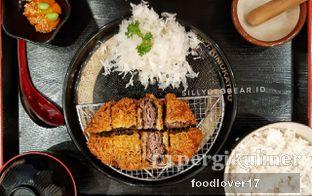 Foto 2 - Makanan(Beef Black Pepper Katsu Set) di Kimukatsu oleh Sillyoldbear.id