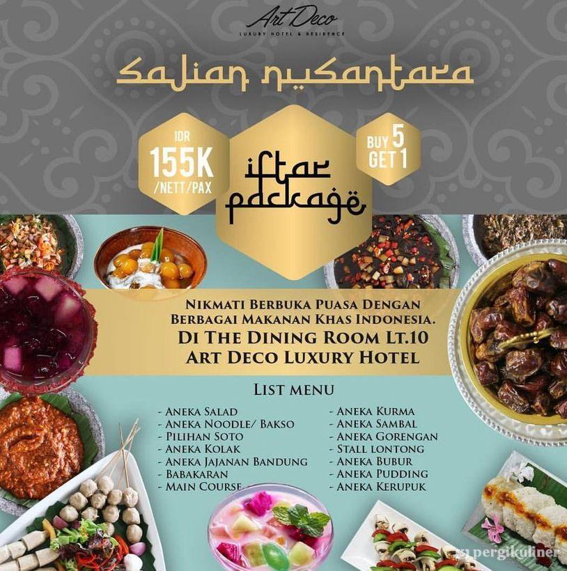 Buffet Buka Puasa 2019 Promo Dan Diskon Di The Dining Room Art Deco Luxury Hotel Residence Bandung Ciumbuleuit Bandung