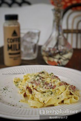 Foto 5 - Makanan(Fettucine Carbonara) di Tuang Coffee oleh Sillyoldbear.id