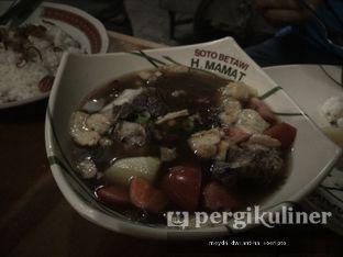 Foto 4 - Makanan(Sop Daging) di Soto Betawi H. Mamat oleh Meyda Soeripto @meydasoeripto