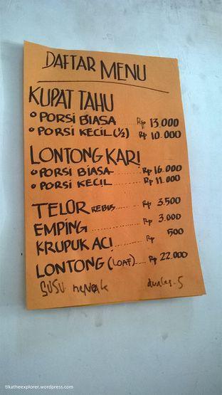 Foto 2 - Menu di Kupat Tahu & Lontong Kari Cicendo oleh tika ratna sari