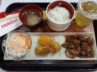 Foto 1 - Makanan(Favorite Set) di HokBen (Hoka Hoka Bento) oleh NOTIFOODCATION Notice, Food, & Location