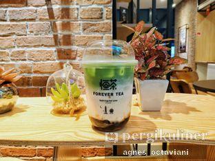 Foto - Makanan(Matcha Latte Brown Sugar Boba) di Forever Tea oleh Agnes Octaviani