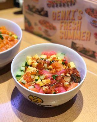Foto 3 - Makanan di Genki Sushi oleh @belfoodiary