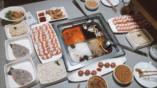 Foto - Makanan di Haidilao Hot Pot oleh @eatfoodtravel