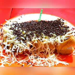 Foto 1 - Makanan(Roti Bakar Coklat Keju) di Roti Bakar Ibu Iis oleh Santiasih Tanoko