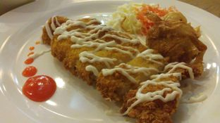 Foto 1 - Makanan(Chicken Katsu) di Ichirei Ramen & Steak oleh Eunice