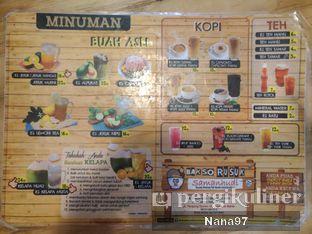 Foto 3 - Menu(Menu minuman) di Bakso Rusuk Samanhudi oleh ig: @foodlover_gallery