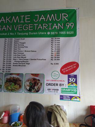 Foto 4 - Menu di Bakmie Jamur Vegan Vegetarian 99 oleh deasy foodie