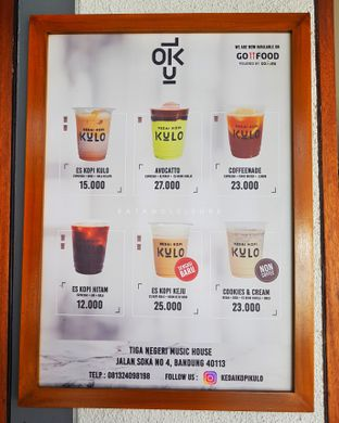 Foto 2 - Menu di Kedai Kopi Kulo oleh Eat and Leisure