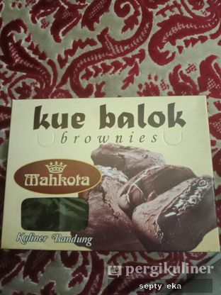 Foto review Kue Balok Brownies Mahkota oleh Septy Eka 1