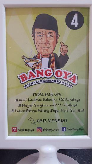 Foto 2 - Menu di Bang Oya Sop Kaki Kambing oleh youinframe