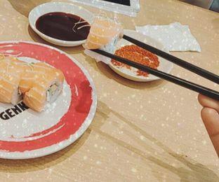 Foto 2 - Makanan di Genki Sushi oleh oktavia nabilah