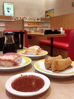 Foto 2 - Makanan(Sushi) di Genki Sushi oleh YSfoodspottings