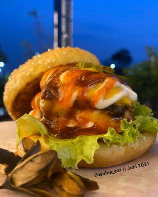 Foto 2 - Makanan di Burger Recieh oleh Levina JV (IG : @levina_eat & @levinajv)