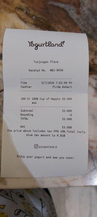 Foto review Yogurtland oleh tasya laper 6