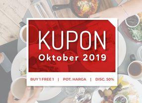 KUPON PergiKuliner : PROMO Buy 1 Free 1 Untuk Warga Jakarta