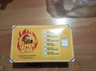 Foto review Geprek Bensu oleh Emir Khaerul 2