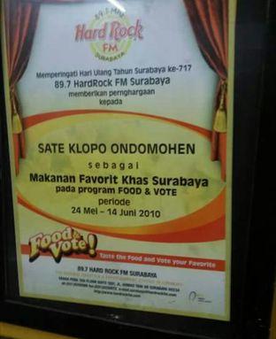 Foto review Sate Klopo Ondomohen Bu Asih oleh Suhartin Sugianto 1