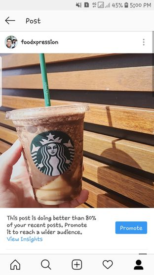 Foto review Starbucks Coffee oleh Eatandcrunch  2