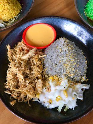 Foto 3 - Makanan(Nasi Lada Hitam + Basil Shredded + Cheese Sauce) di Rice & Cheese oleh Levina JV (IG : levina_eat )