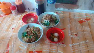 Foto 1 - Makanan(Bakmi BlackPaper ) di Bakmie Jamur Vegan Vegetarian 99 oleh Yulia
