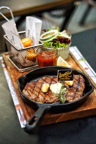 Foto 3 - Makanan(US Black Angus Sirloin) di Justus Steakhouse oleh Fadhlur Rohman