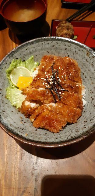 Foto 2 - Makanan(Sauce Katsu Don) di Musouya - Hotel New Sany Rosa oleh Bundarsekali