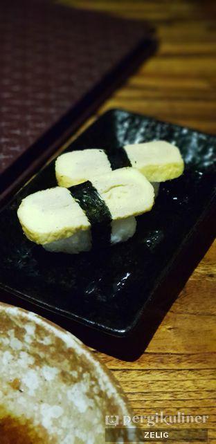 Foto 3 - Makanan(Tamago Sushi) di Kiyadon Sushi oleh @teddyzelig