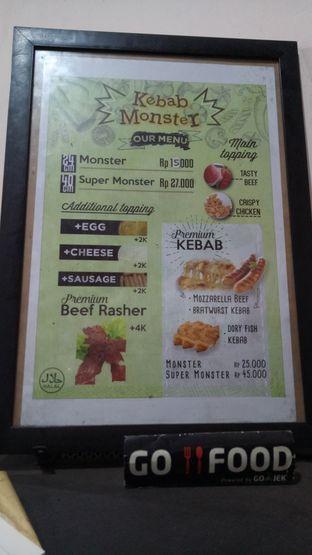 Foto 5 - Menu di Kebab Monster oleh maysfood journal.blogspot.com Maygreen