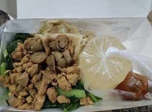 Foto 2 - Makanan di Mie Jempol Batavia oleh @eatfoodtravel