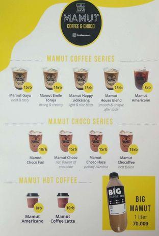 Foto - Menu di Mamut Coffee & Choco oleh Vitrie Cassandra