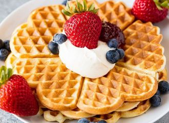 5 Jenis Waffle di Dunia Berdasarkan Bentuknya, Intip Dulu Yuk!