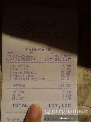 Foto 1 - Menu di Routine Coffee & Eatery oleh Shanaz  Safira