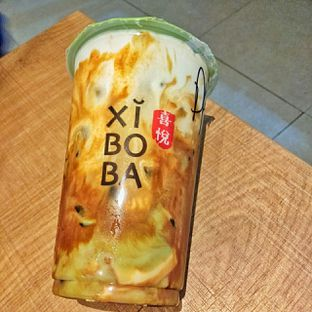 Foto 2 - Makanan(Dirty matcha dalgona with hokkaido milk) di Xi Bo Ba oleh duocicip