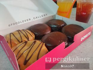 Foto 1 - Makanan di Dunkin' Donuts oleh Nana (IG: @foodlover_gallery)