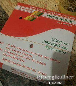 Foto 2 - Makanan di Ayam Goreng Mbok Berek Ny. Astuti oleh Tissa Kemala