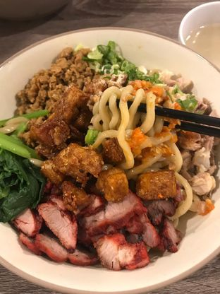 Foto 1 - Makanan di Bakmi Karet Asiu oleh Deasy Lim
