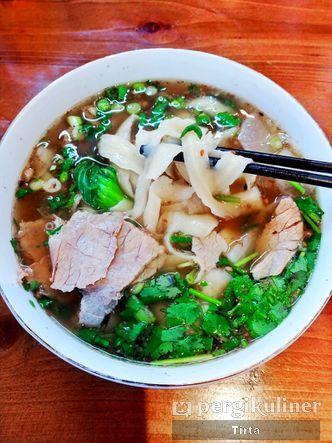 Foto Makanan di China Lanzhou Daging Sapi Mie Rame