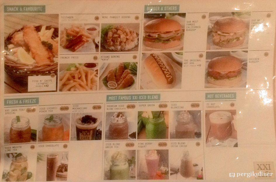 Daftar Harga Makanan Dan Minuman Di Xxi 2019 Seputar Minuman