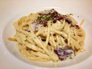 Foto 1 - Makanan(Spagetti carbonara beef, ) di The Bunker Cafe oleh Komentator Isenk