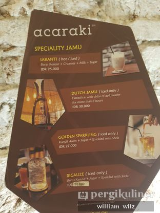 Foto 3 - Menu di Acaraki oleh William Wilz