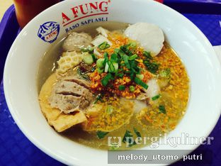 Foto - Makanan di A Fung Baso Sapi Asli oleh Melody Utomo Putri