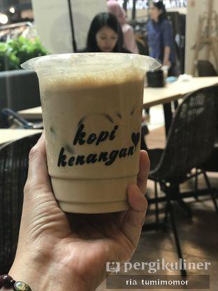 Foto review Kopi Kenangan oleh Ria Tumimomor IG: @riamrt 2