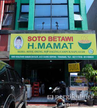 Foto 1 - Eksterior di Soto Betawi H. Mamat oleh Ladyonaf @placetogoandeat