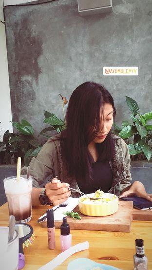Foto 1 - Makanan(sedotannya bambu😍 enak rasa makanan dan minumannya) di Greens and Beans oleh Lita Dhini