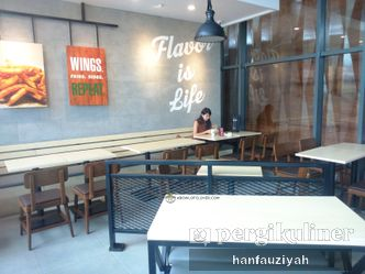 Foto Interior di Wingstop
