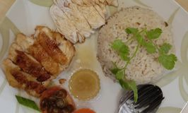 Hainan Chicken Rice Singapura